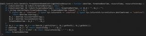 تابع نمایش یادداشت کد جاوا اسکریپت Wall.Control.js  مایکروسافت داینامیکس سی آر ام